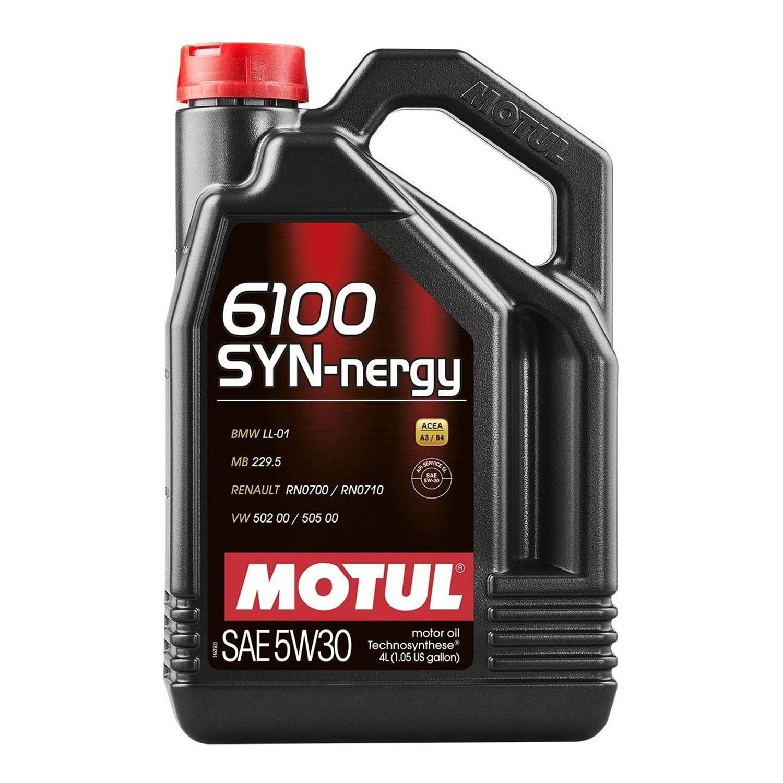 Масло MOTUL 5w30 6100 SYN-NERGY 4л (Синтетика)