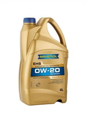 Масло RAVENOL 0w20 EHS 4л (Синтетика)