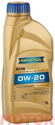 Масло RAVENOL 0w20 EHS 1л (Синтетика)