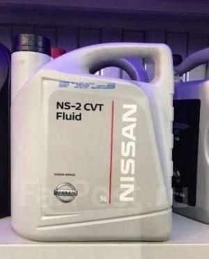 Трансмиссионное масло NISSAN NS-2 CVT 5л (Синтетика)