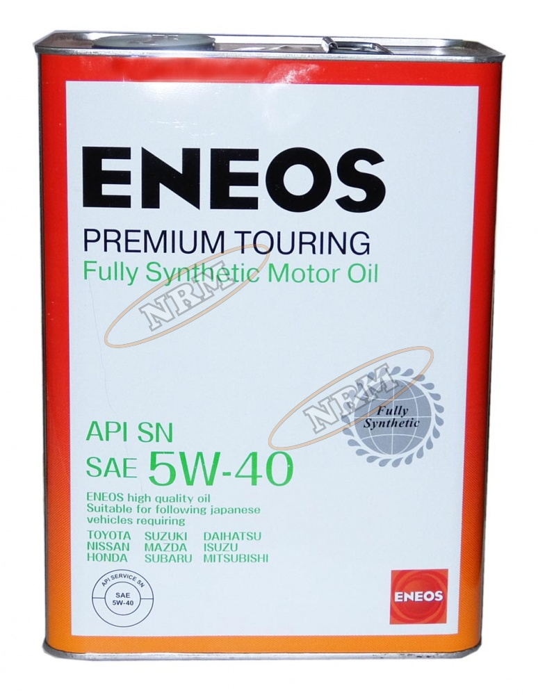 Масло моторное ENEOS 5W40 SN Premium Touring 1л
