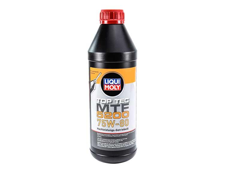 Трансмиссионное масло LIQUI MOLY 75w80 TOP TEC MTF 5200 GL-4