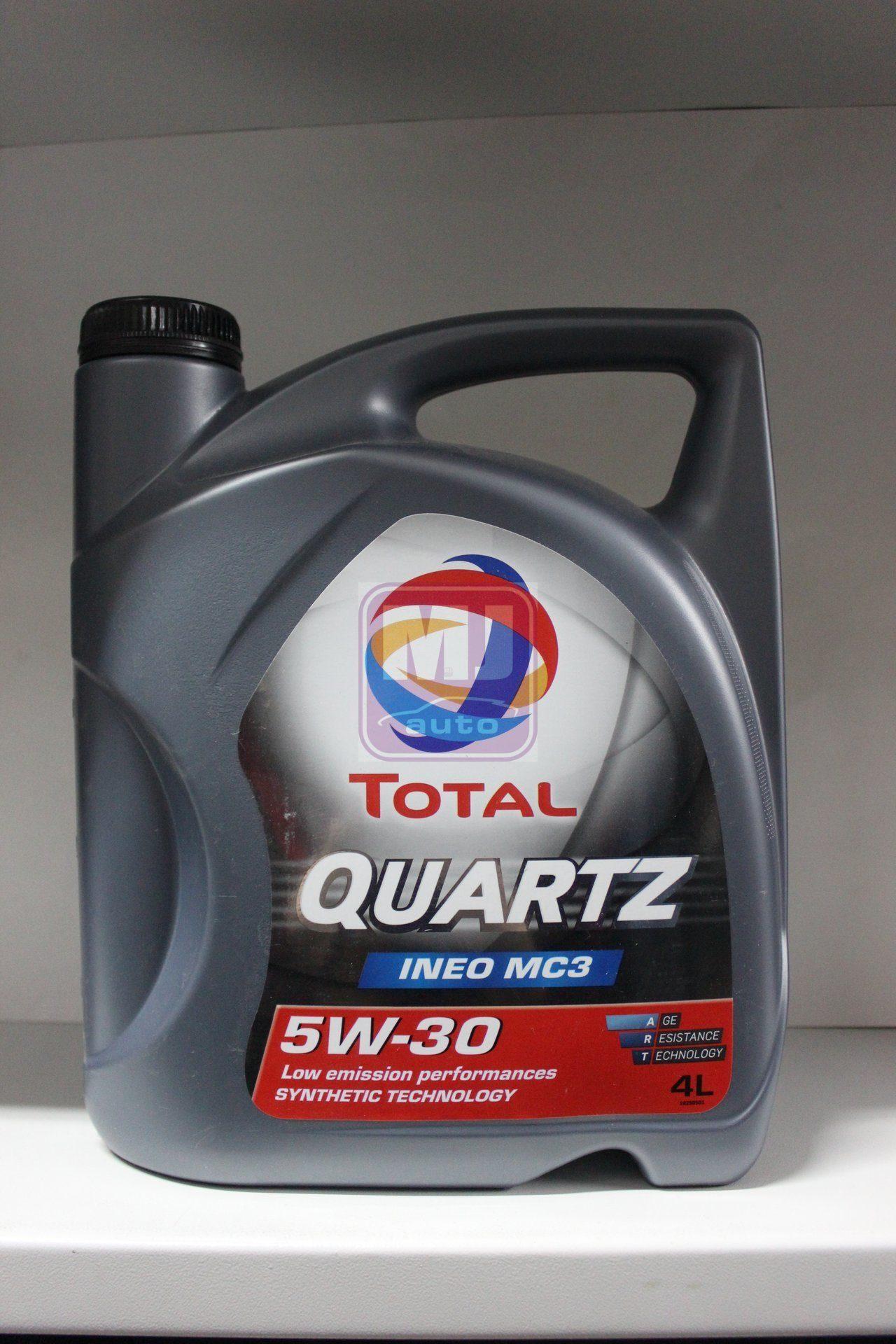 Моторное масло TOTAL INEO MC3 5W30