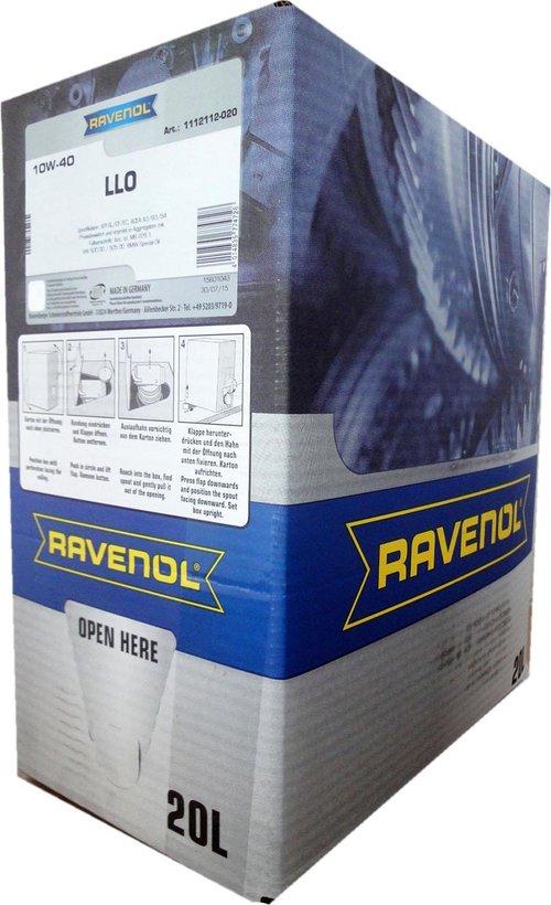 Моторное масло RAVENOL 10W40 LLO SAE