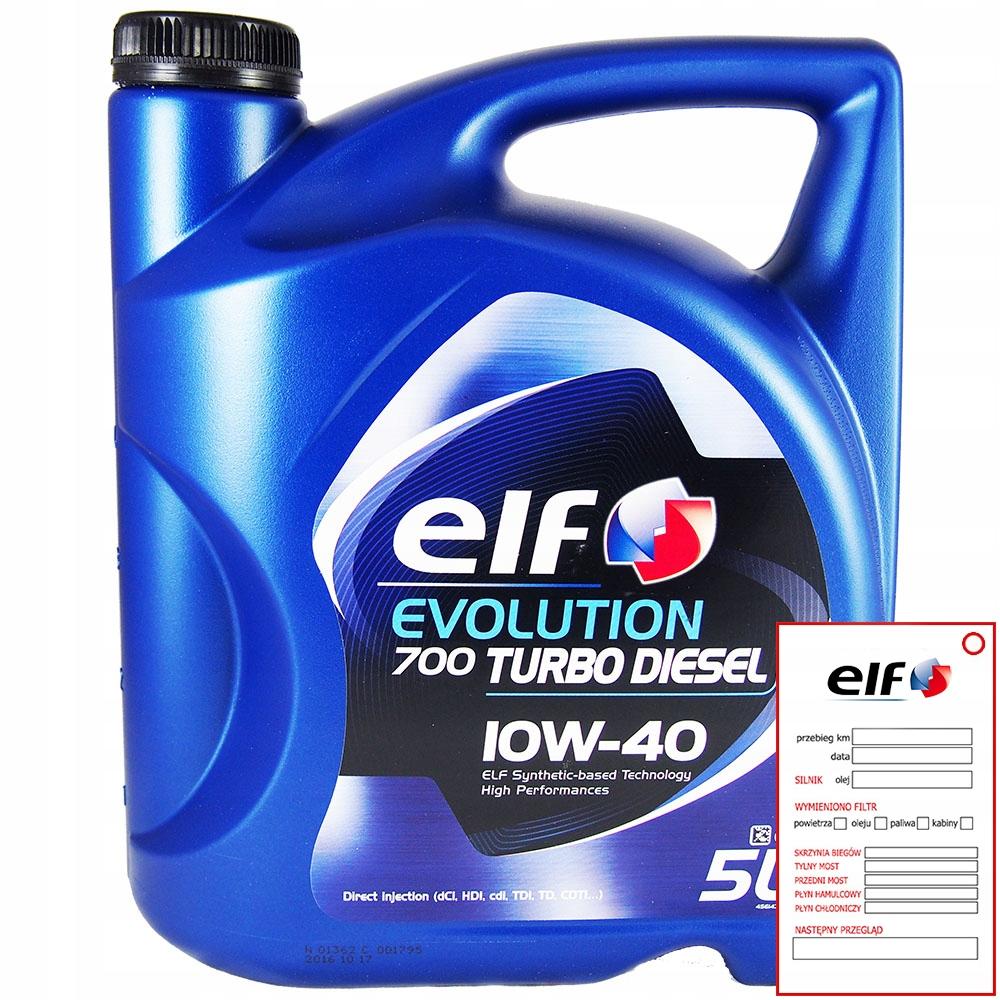 Моторное масло ELF 10w40 TD evolution 700