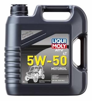 Моторное масло для квадроциклов LIQUI MOLY  ATV 4T Motoroil 5W-50