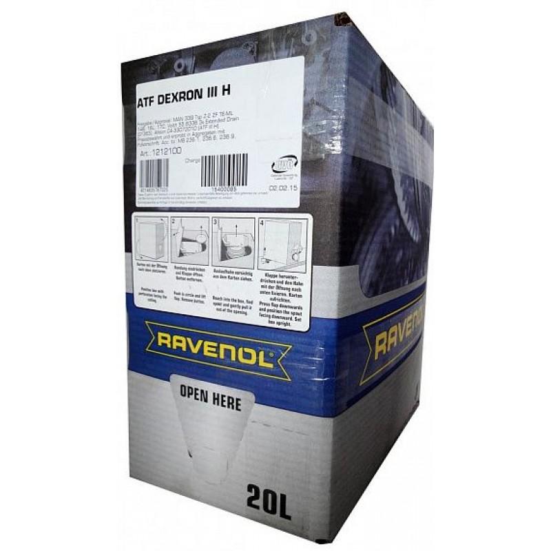 Трансмиссионное масло RAVENOL ATF DEXRON H III