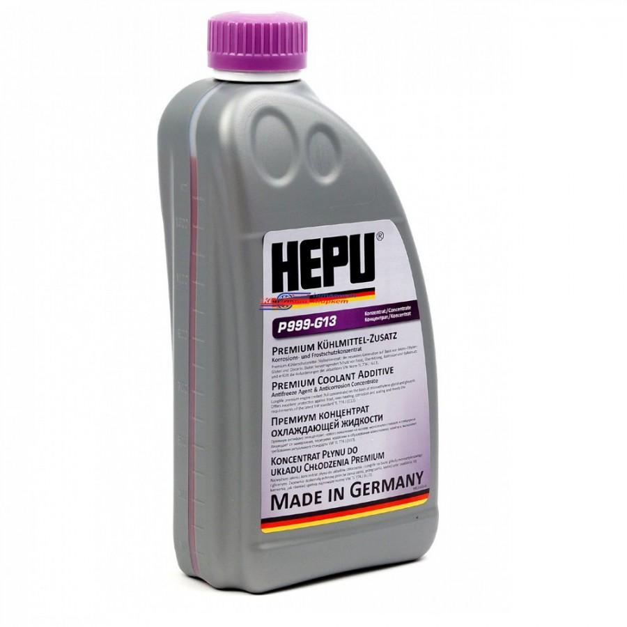 Охлаждающая жидкость HEPU Концентрат 1,5л