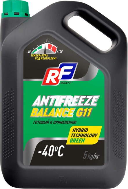 Охлаждающая жидкость RUSEFF Balance G11 5л