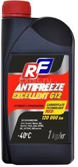 Охлаждающая жидкость RUSEFF EXCELLENT G12 1л