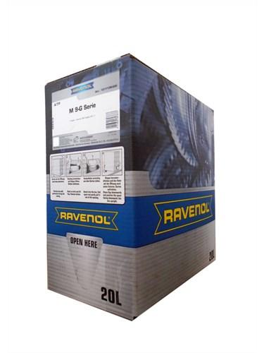 Трансмиссионное масло на разлив RAVENOL ATF 8 HP Fluid 20л ecobox
