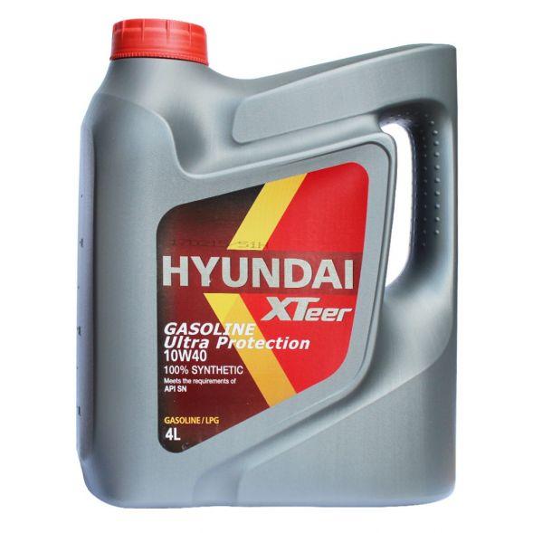 Моторное масло HYUNDAY 10W40 Xteer Gasoline Ultra Protection 4л Синтетика