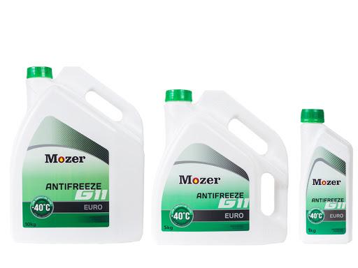 Охлаждающая жидкость (антифриз) MOZER 1л зеленый