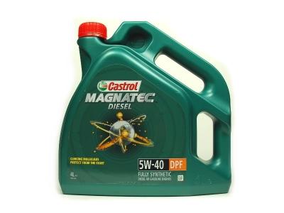 Моторное масло CASTROL Magnatec 5w40 Diesel DPF NEW