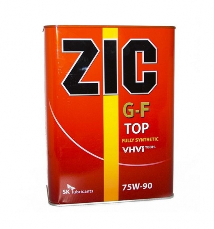 Трансмиссионное масло ZIC G-F TOP 75W90