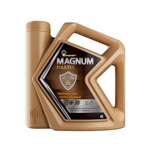 Масло РОСНЕФТЬ 5W40 Magnum Maxtec API SL/SF 4л (Полусинтетика)
