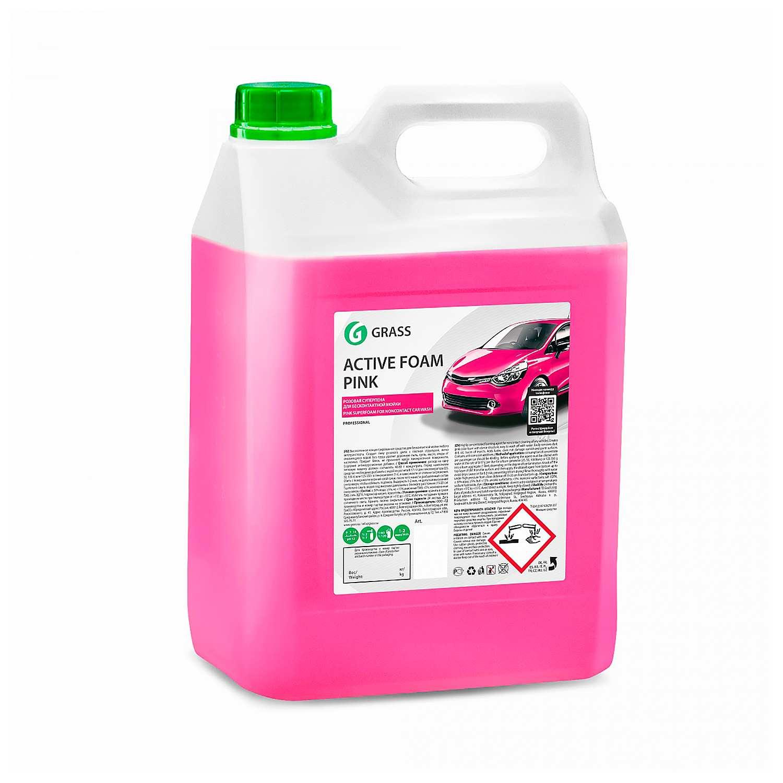 Активная пена розовая GRASS (канистра 6 кг)