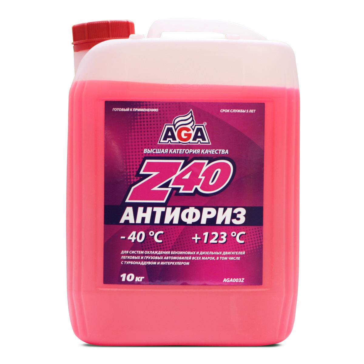 Антифриз AGA Красный 10л