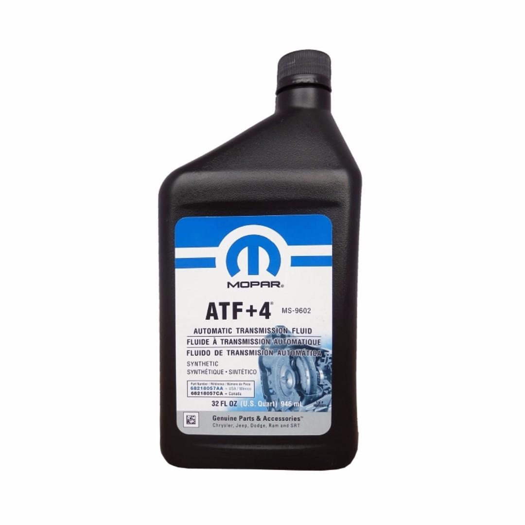 Трансмиссионное масло CHRYSLER ATF +4