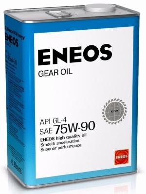 Трансмиссионное масло ENEOS 75w90 GL-4 4л (Полусинтетика)