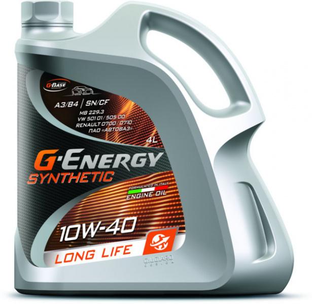 Моторное масло G ENERGI 10W40 Long Life