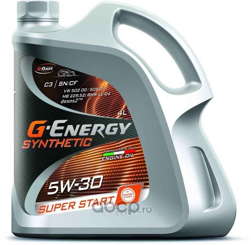 Моторное масло G-Energy 5w30 Super Start