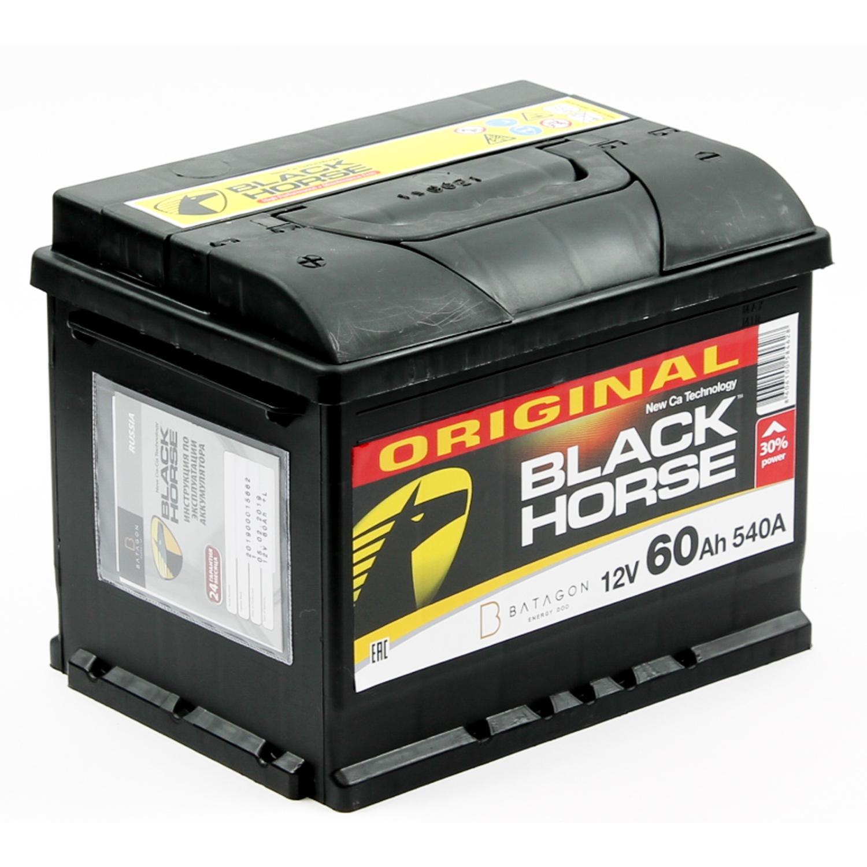 Аккумулятор BLACK HORSE 6CT-60.0