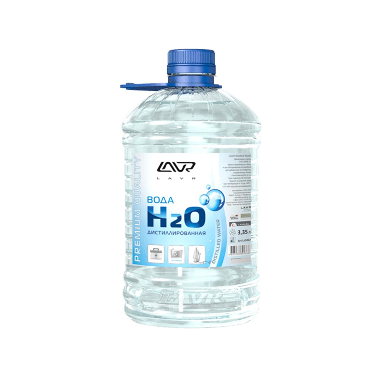 Вода дистилированная H2O 5л