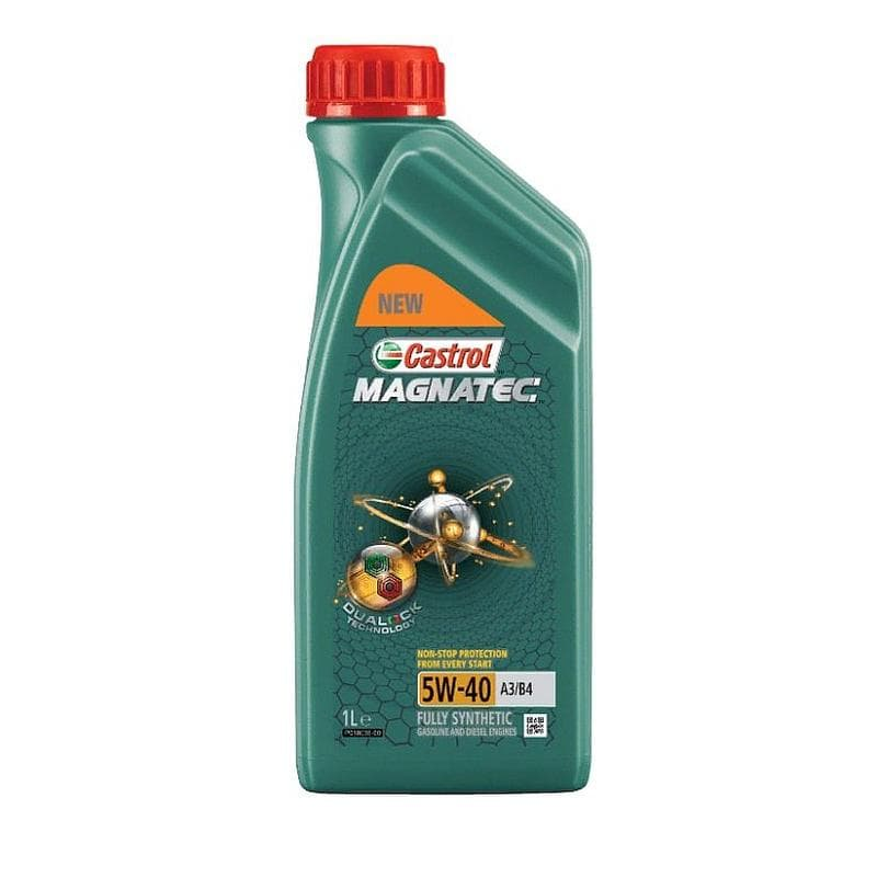 Моторное масло CASTROL Magnatec 5W40 A3/B4 DUALOCK 1л