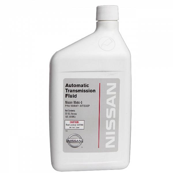 Трансмиссионное масло NISSAN ATF MATIC-S Синтетика 1л