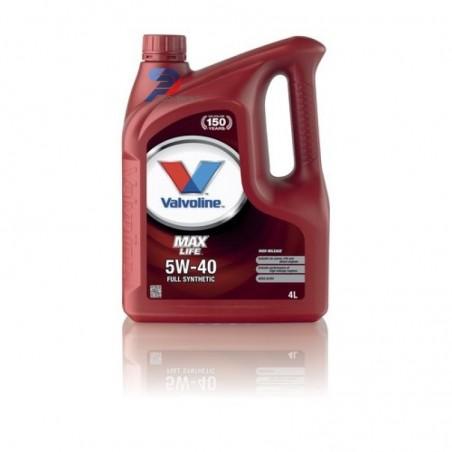 Моторное масло VALVOLINE Maxlife 5w-40 1LFG 5л