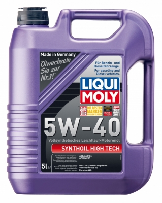 Моторное масло LIQUI MOLY synthoil high tech 5w40