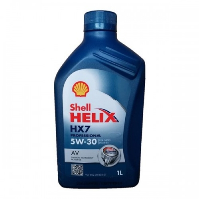 Моторное масло SHELL HX7 5W30