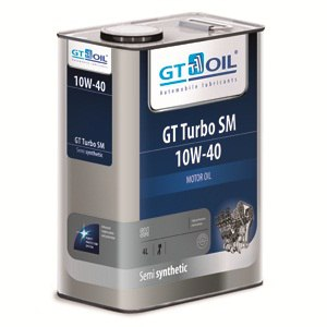 Моторное масло GT OIL GT Turbo 10w40 SM