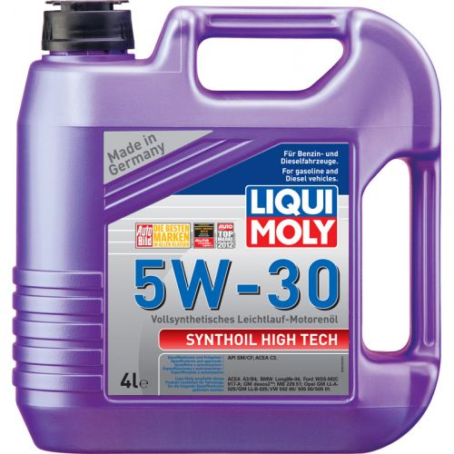 Моторное масло LIQUI MOLY 5w30 Synthoil High Tech